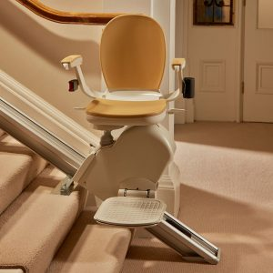 straight-stair-lift-on-staircase